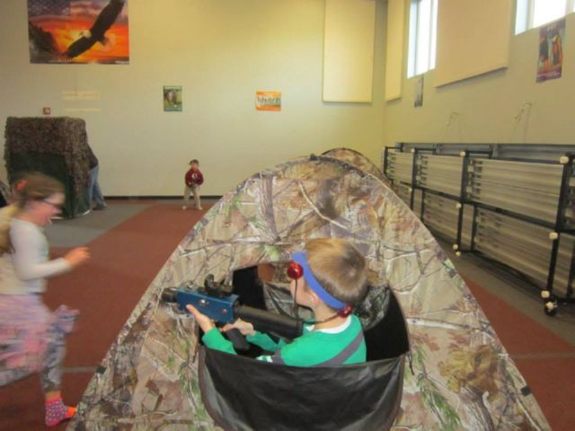 Day Care Laser Tag!